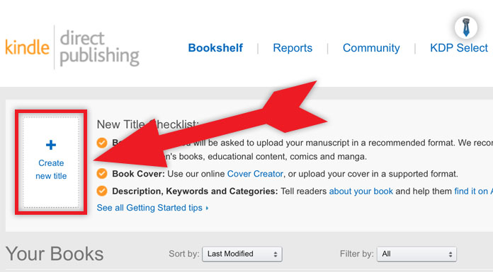 how to publish your ebook on amazon kindle